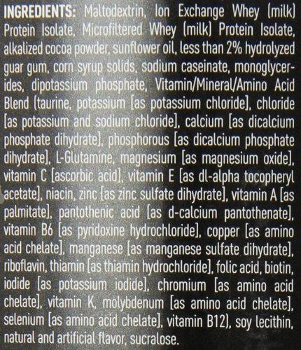 Nature's Best Isopure Mass, Dutch Chocolate, 3.25-Pound Tub