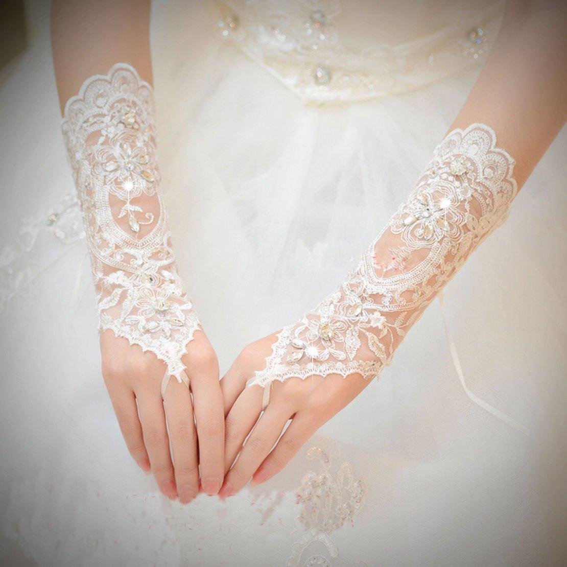 Femme Gants de mariage Unbekannt