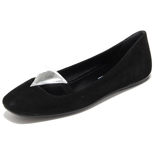 Femme 8433e Danseurs Chaussures Prada Chaussures Femmes [35.5] Vq51Yf