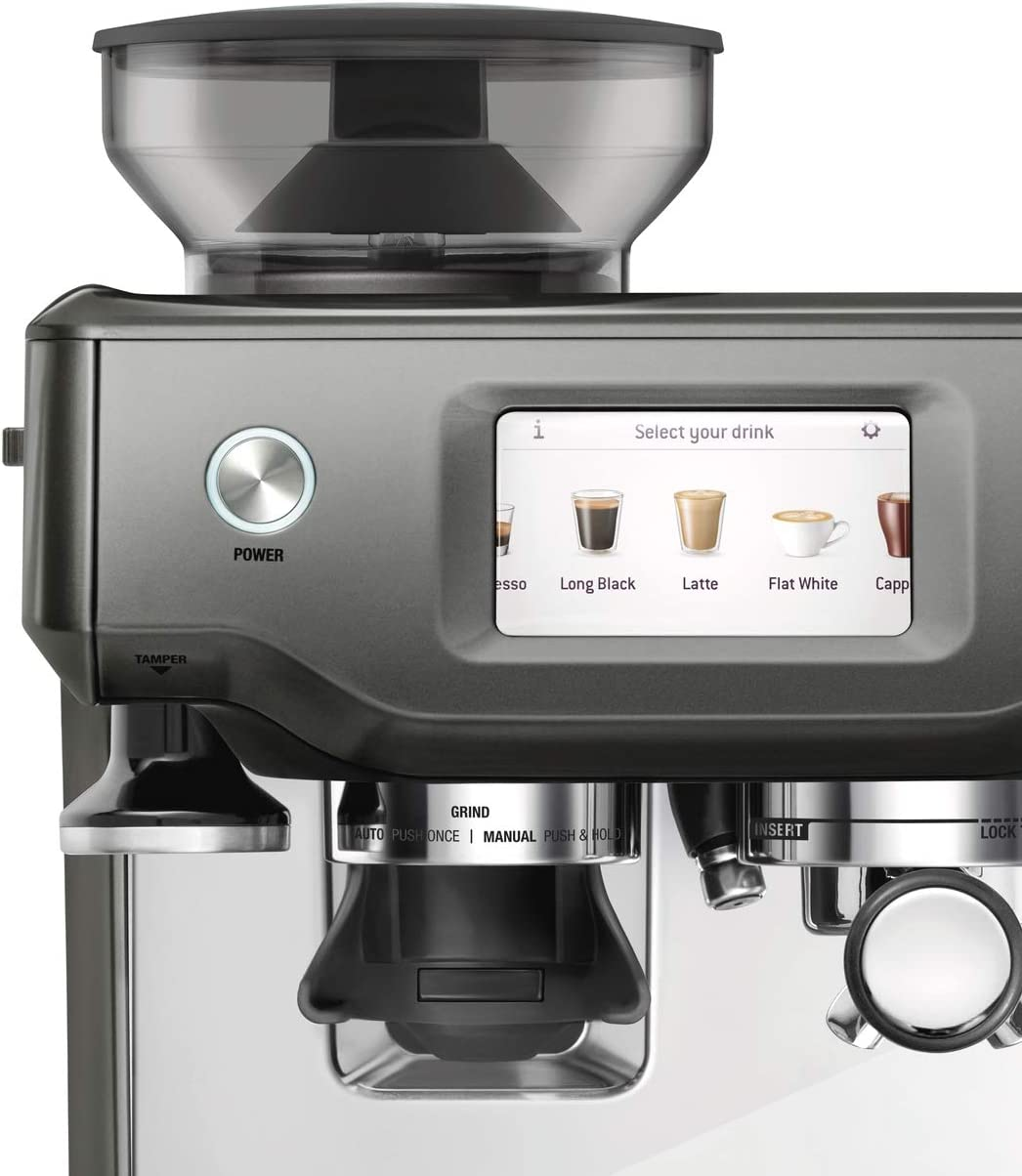 SAGE SES880SHY the Barista Touch, Cafetera espresso ...