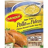 Maggi Chicken Flavor Noodle Soup Mix, 2.11 oz