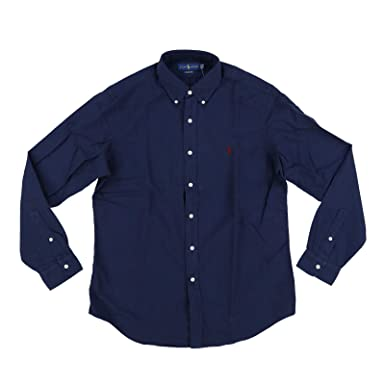 8b772985f86d8 Polo Ralph Lauren Mens Classic Fit Oxford Longsleeve Buttondown Shirt (S