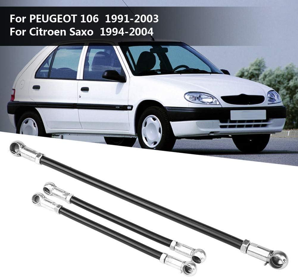 Shift Gear Link que conecta Fydun 3 PC Car Shift Gear Link Bielas para 106 1991-2003 Saxo 1994-2004