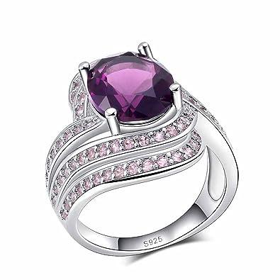 Amazon Com Jemmin Crystal Ring For Women Korea Style Girls Birthday
