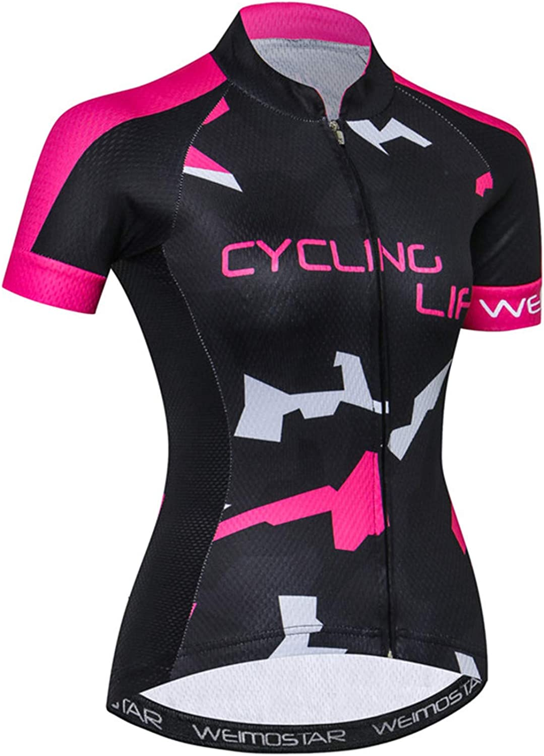 Womens Cycling Jersey Short Sleeve Bike Shirt MTB Bicycle Clothing Breathable