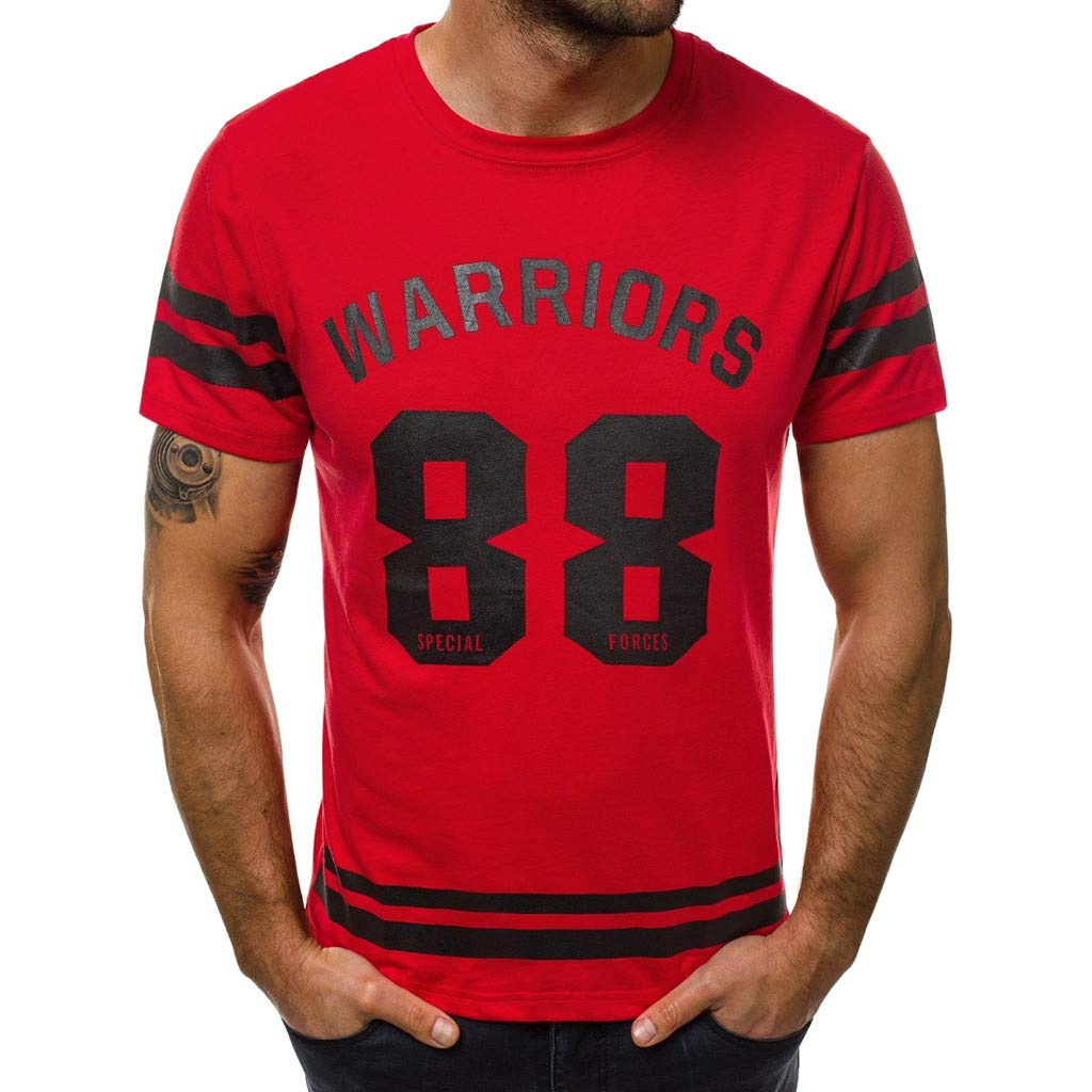 Giulot Classic Jersey Script Warriors Basketball Shirt for Fan Men's Sports Quick- Dry Breathable Active Tee Red