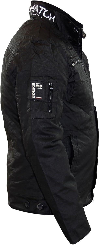 CrossHatch Herren Jacke * One Size Gr. L, Plixxie Black