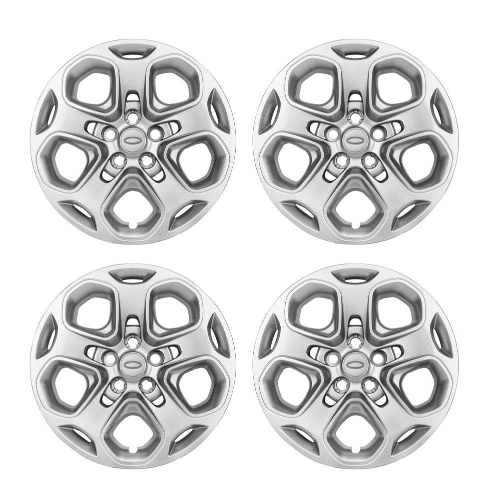 4pcs Wheel Hub Caps Center Rim Covers 5 Lug for 2012 Ford Fusion 10-11 Mercury Milan by Autoforever