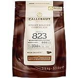 Callets para hornear chocolate con leche belga (patatas fritas) – 33,6% – 1 bolsa, 2,5 kg