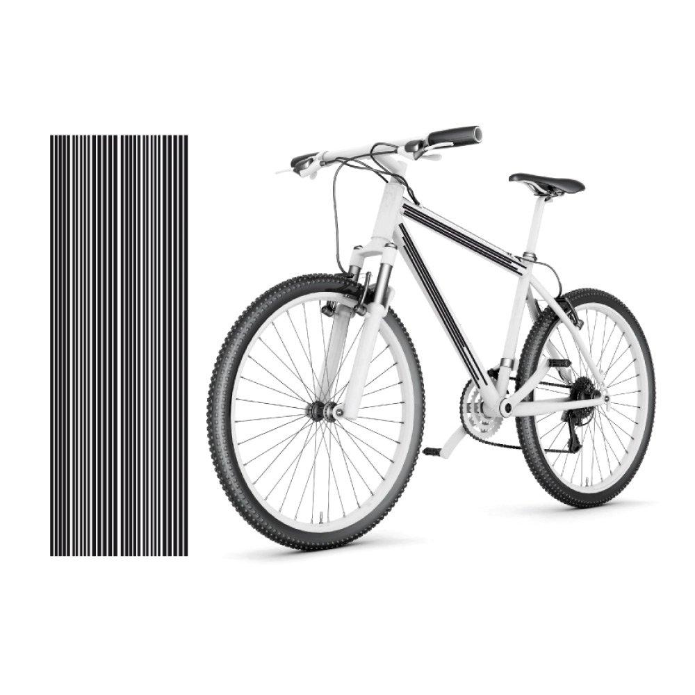 style4Bike Fahrradaufkleber XXL Stripes Fahrradtattoo 30 Teile ...