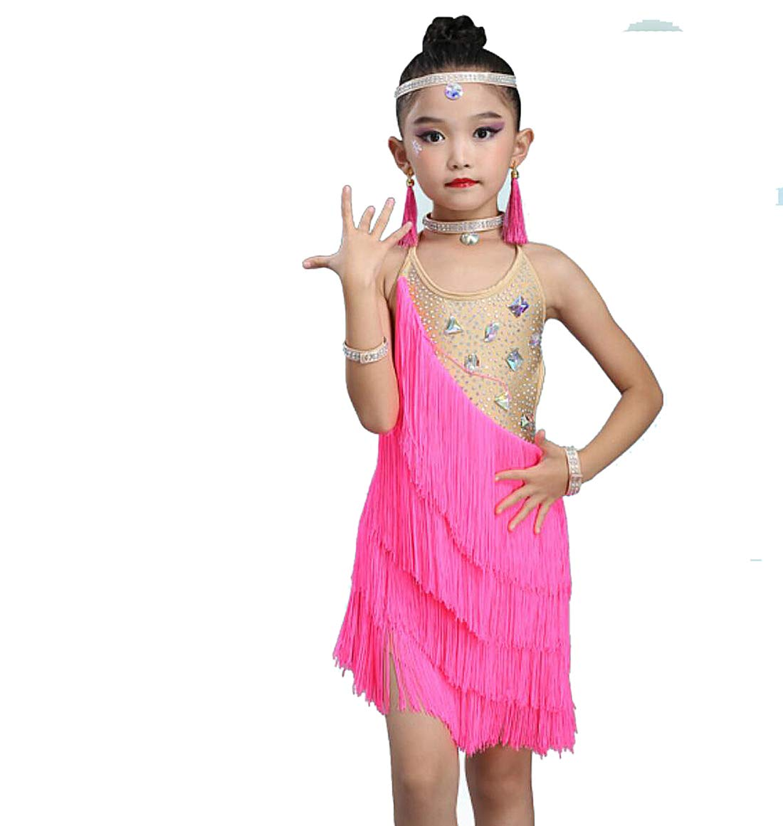 SMACO Niño Trajes de Baile Latino, niños niñas con ...