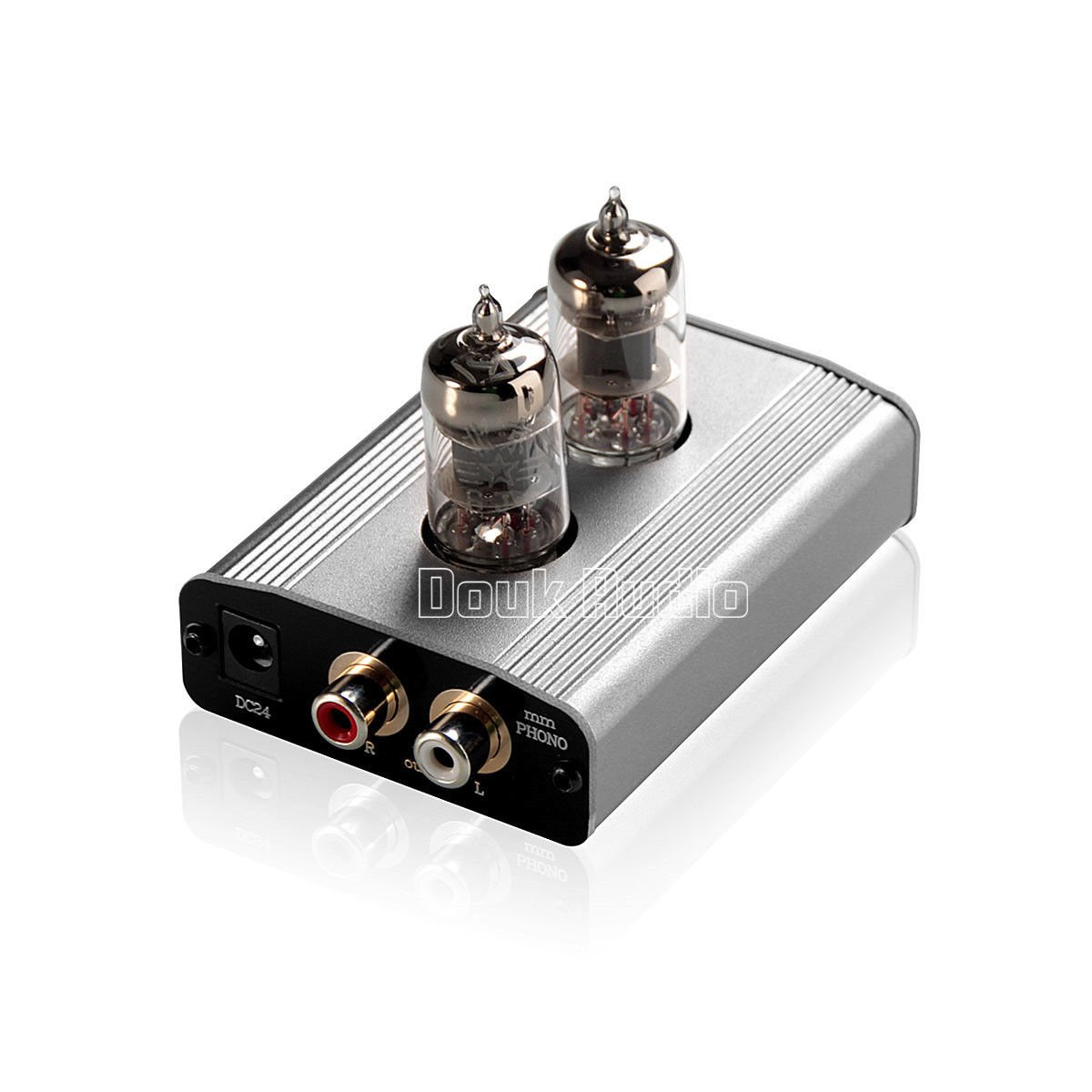 Douk Audio 6J1 Tube Phono Preamp MM RIAA Turntable Vinyl LP Record Player HiFi Class A Preamplifier by Douk Audio