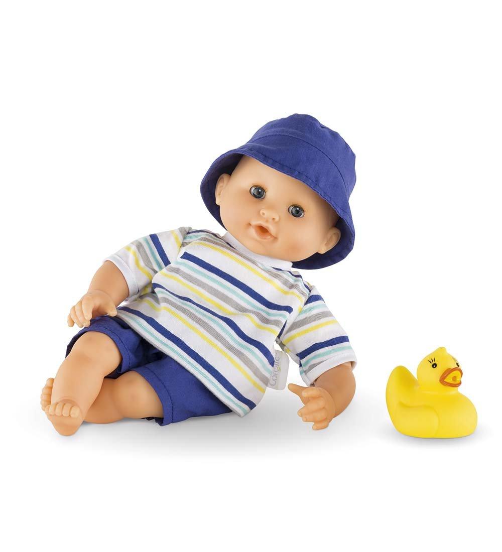 Amazon.com: Corolle Mon Premier Bebe Bath Boy Doll: Toys & Games
