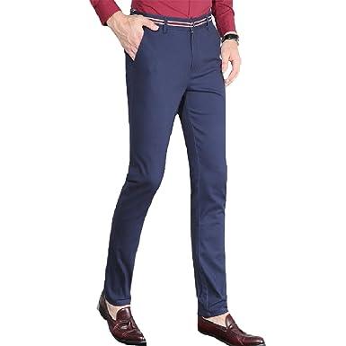Tootlessly-Men Pantalón de traje - para hombre: Amazon.es ...