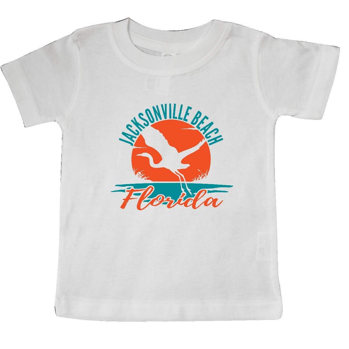 inktastic Jacksonville Beach Florida Vacation Trip Baby T-Shirt