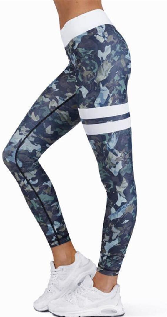LILICAT Leggings de Fitnes Yoga Deportes de Alta Cintura Leggings deportivos el/ásticos y transpirables Para Mujer Multicolor, L Pantalones deportivos
