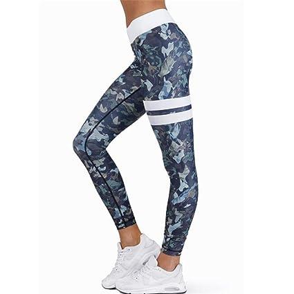 9e6eae43466c8 Leggings deportivos elásticos y transpirables Para Mujer