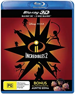 Amazon com: The Incredibles [Blu-ray] [2004] [Region Free