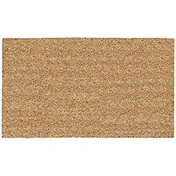 Kempf natural coco coir doormat 14 by 24 for Door mats amazon