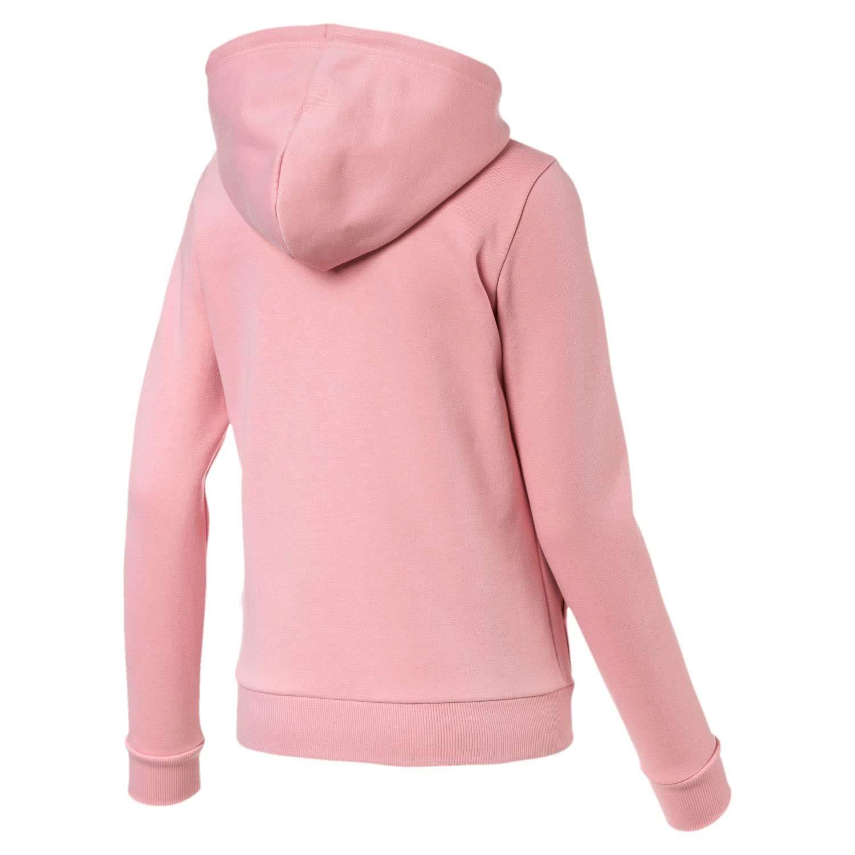 Puma Damen ESS Logo Hooded Jacket FL Trainingsjacke: Amazon