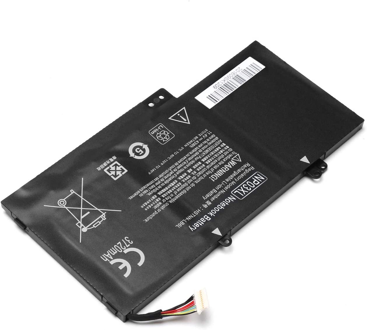 NP03XL Laptop Battery for HP Pavilion X360 13-A010DX 13-b116t, HP Envy 15-U010DX 15-U337CL 15-U050CA, Compatible with 760944-421 761230-005 HSTNN-LB6L TPN-Q146 TPN-Q147 TPN-Q148 TPN-Q149
