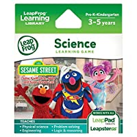 LeapFrog Learning Game: Sesame Street Resuélvelo con Elmo (para LeapPad Tablets y LeapsterGS)
