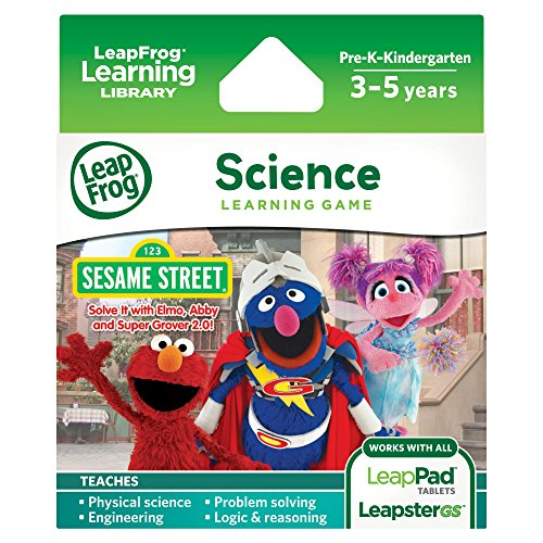 me: Sesame Street Solve it with Elmo (for LeapPad Tablets and LeapsterGS) ()
