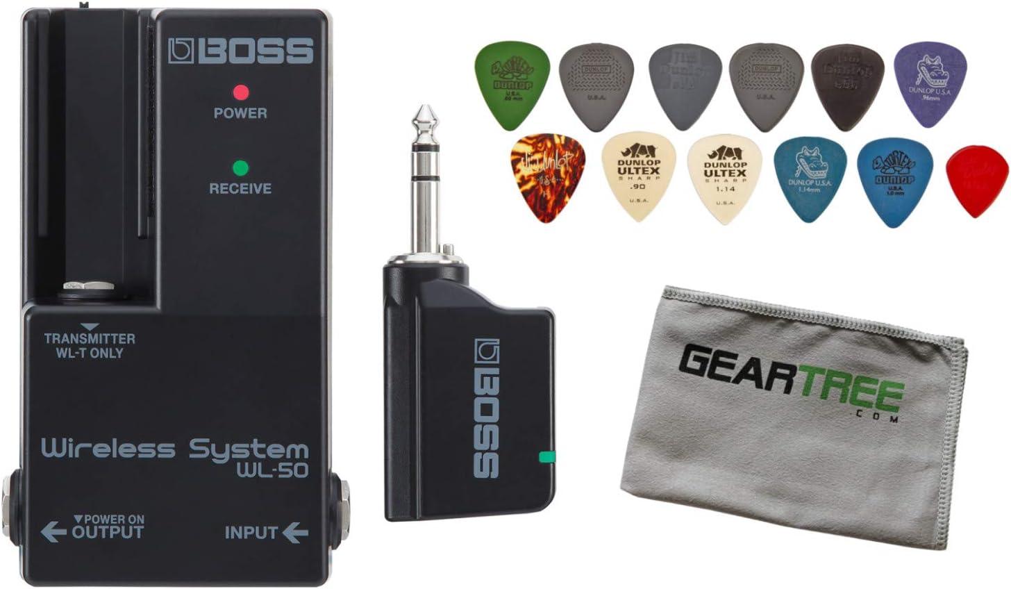Boss WL-50 - Pedalera para guitarra con sistema inalámbrico y ...