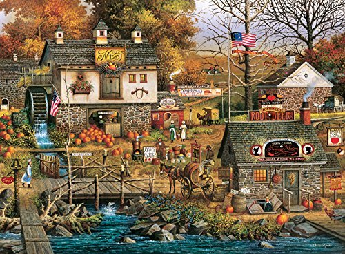 Buffalo Games Charles Wysocki: Olde Buck's County Jigsaw Puzzle (1000 Piece) by Buffalo Games