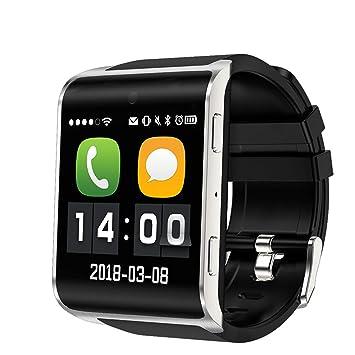 09ad71dd3cf9 YUNDING Reloj Deportivo Bluetooth Reloj Digital Inteligente WiFi Internet  GPS  Amazon.es  Deportes y aire libre