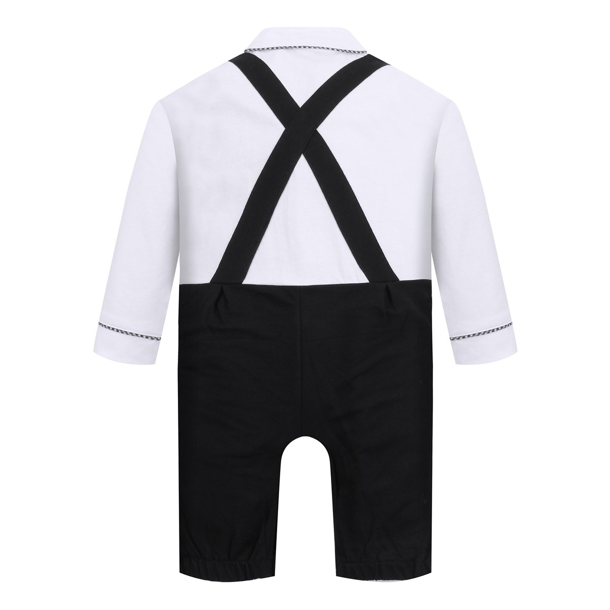 Baby Boy Outfits,Clothing Set Toddler Jumpsuit Romper Onesie with Bowtie /& Strap