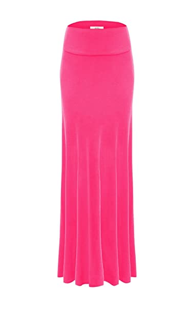 provide large selection of uk cheap sale On Clearance Fuchsia Skirt Rayon Maxi Skirt Flared, Womens Long Skirt ...