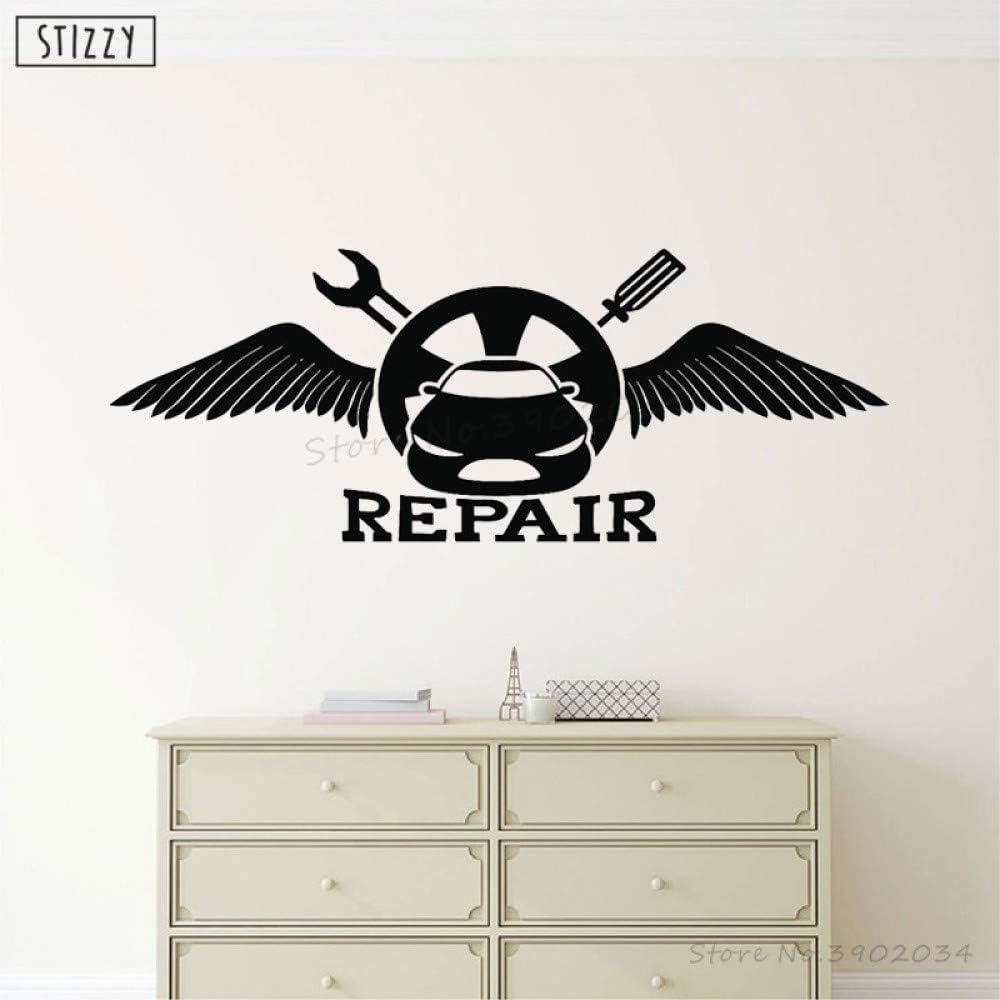 yaoxingfu Tatuajes de Pared Auto Shop Herramientas de reparación ...