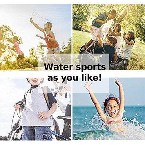 Barerun Kids Men Women New Light Weight Comfort Sole Easy Walking Athletic Slip On Water Shoes (37/38,6.5-7.5 B(M)) White … by Barerun (Image #6)
