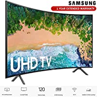 Samsung 55NU7300 55 NU7300 Smart 4K UHD TV (2018) with Extended Warranty (UN55NU7300)