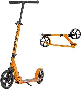 SPARTAN Folding Scooters (200mm, Orange)