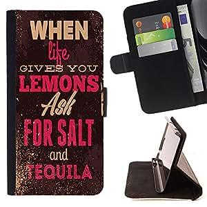 King Case - FOR Samsung Galaxy A3 - ask for sake - Prima caja de la PU billetera de cuero con ranuras para tarjetas, efectivo Compartimiento desmontable y correa para la mu?eca