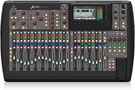 Behringer X32 mezclador DJ - Mezclador para DJ (24 Bit, 10-22000 ...