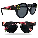 MightySkins Protective Vinyl Skin Decal for Snapchat Spectacles wrap cover sticker skins Hibiscus