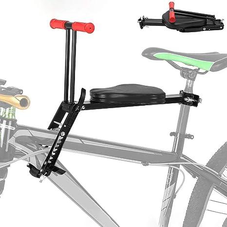 STRTT Asiento Bicicleta Niño,Montaje Frontal Plegable y Ultraligero para niños,pasamanos para Bicicletas de Crucero,para Disfrutar de Paseos Seguros y Divertidos: Amazon.es: Deportes y aire libre