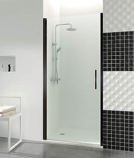 Jacob Delafon Serenity -Mampara de ducha fija 120 cm, perfilería ...