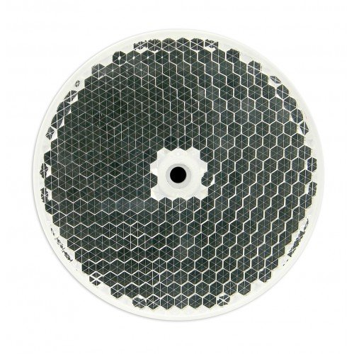 - SECO-LARM E-931ACC-RC1Q Round Reflector for Photoelectric Beam Sensors, 3