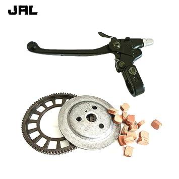 jrl embrague Big Bevel Gear juego de fricción y palanca de embrague para 49/66/80cc motorizado bicicleta: Amazon.es: Coche y moto