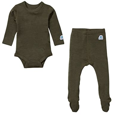 79fabb3b83d Image Unavailable. Image not available for. Color  Ultrasoft Merino Baby Base  Layer Set ...