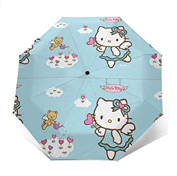Windproof Travel Umbrella Secret Of The Wings Compact Folding Umbrella Automatic Open//Close