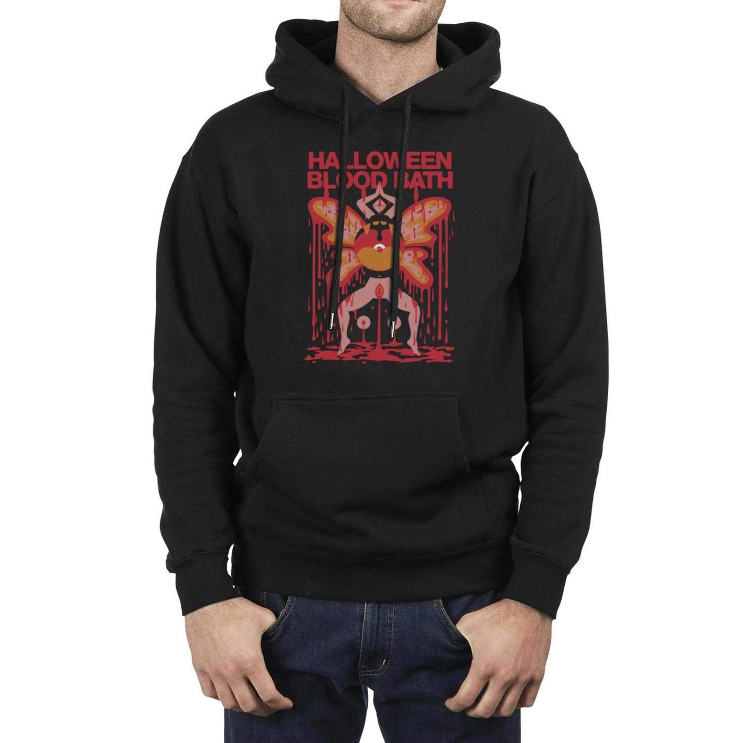Young Men Fleece Pullover Hoodie Sweater The-Flaming-Lips-Peace-and-Paranoia-Tour-2013- for Mens