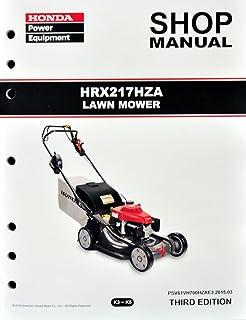 honda hr215 lawn mower repair manual ultimate user guide u2022 rh megauserguide today Helm Service Manuals Honda Honda Lawn Mower Service Manuals