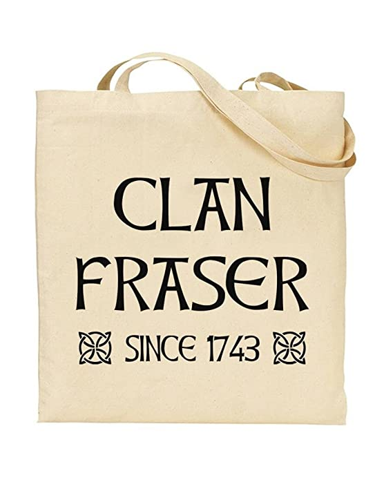 TOTE Outlander Fan Handbag Bag Shopping I Want To wake Up in 1743 And Find JAMES FRASER Novelty Gift by TeeDemon/® TV Show