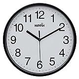 "Amazon Price History for:Hippih 10"" Silent Quartz Decorative Wall Clock Non-ticking Digital(Black)"