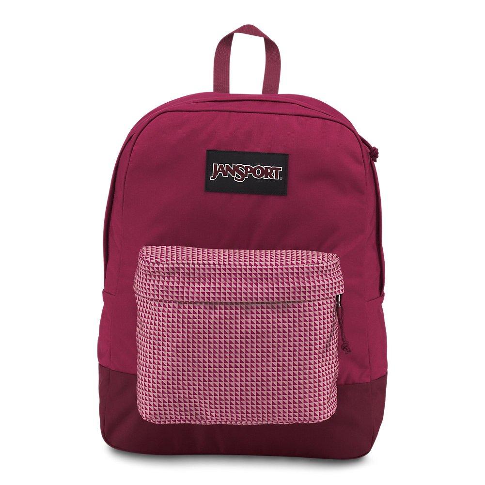 d8b6ca26e47 JanSport Black Label Superbreak Backpack - Red Combo - Classic, Ultralight